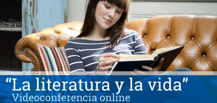 Videoconferencia online La literatura y la vida