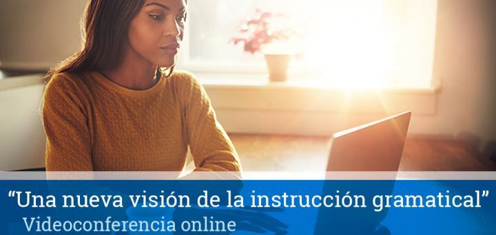 videoconferencia online instrucción gramatical