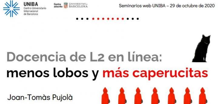 Inauguramos el ciclo de seminarios web en el Máster en Formación de Profesores de Español como Lengua Extranjera